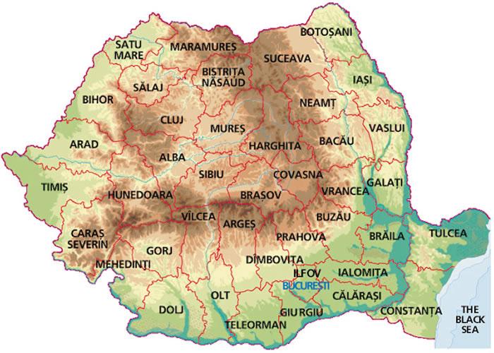 Istoria Judeţelor Si Regiunilor Din Romania
