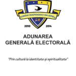 ADUNAREA GENERALĂ ELECTORALĂ