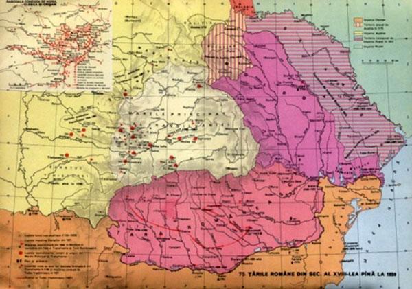 Țarile Române în secolul XVIII