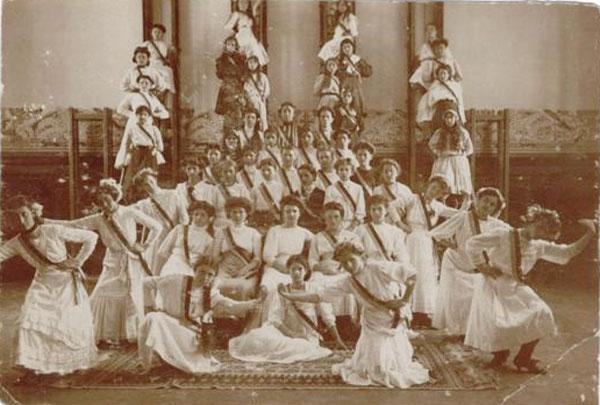Cercul femeilor gospodine, Timișoara, 1931 Președinta - Sofia Imbroane