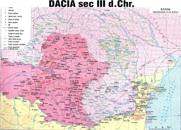 Dacia, secolul III
