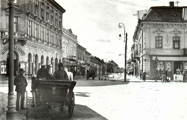 Vârșețul la începutul secolului al XX-șea, fotografie din arhiva Agenției de Turism a Municipiului Vârșeț
