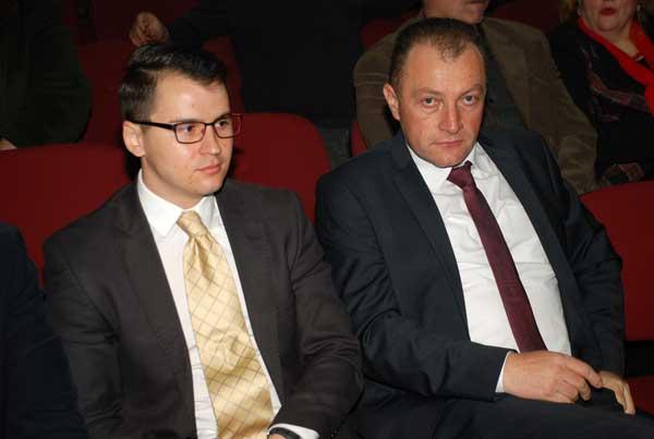 Andrei Sârbulescu,  reprezentantul DPRRP din cadrul MAE și Dr. Dorinel Stan, președintele Asociației Românii Independenți din Serbia